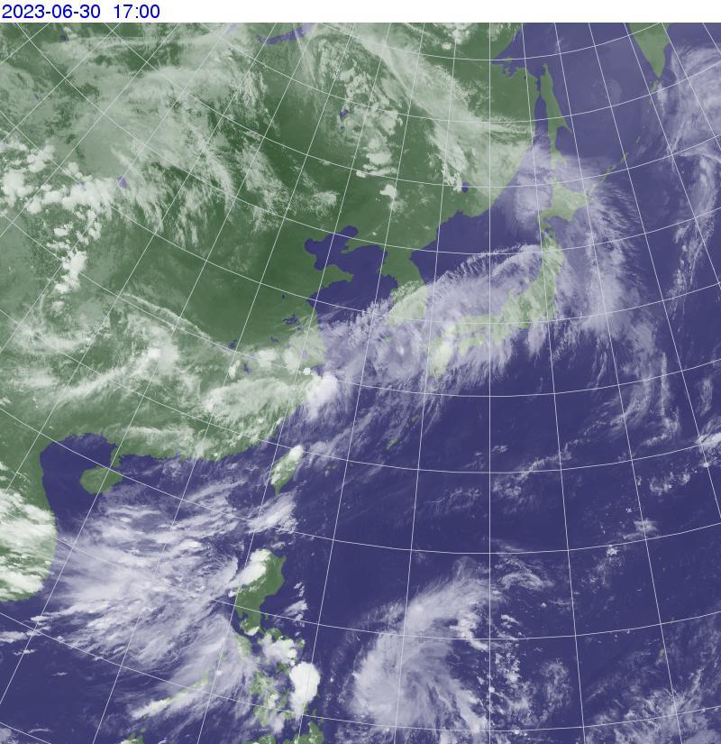ひまわり日本域 赤外画像