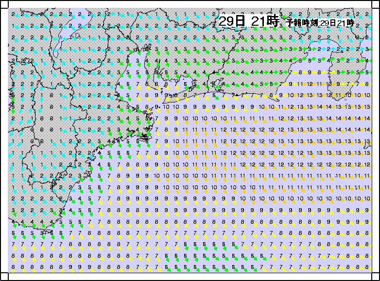 沿岸波浪モデル風1