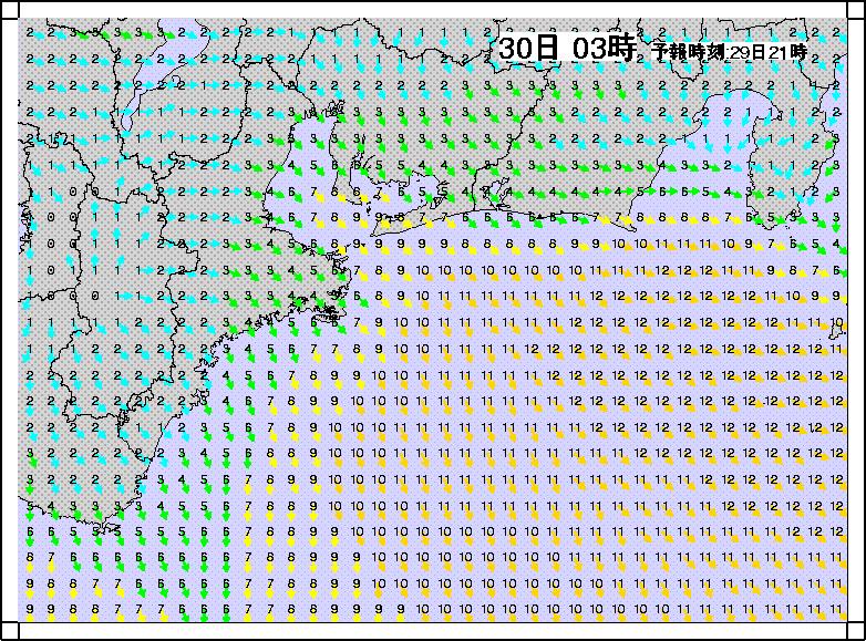 沿岸波浪モデル風2