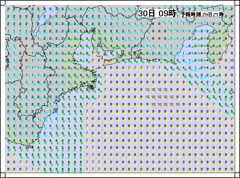 沿岸波浪モデル風3